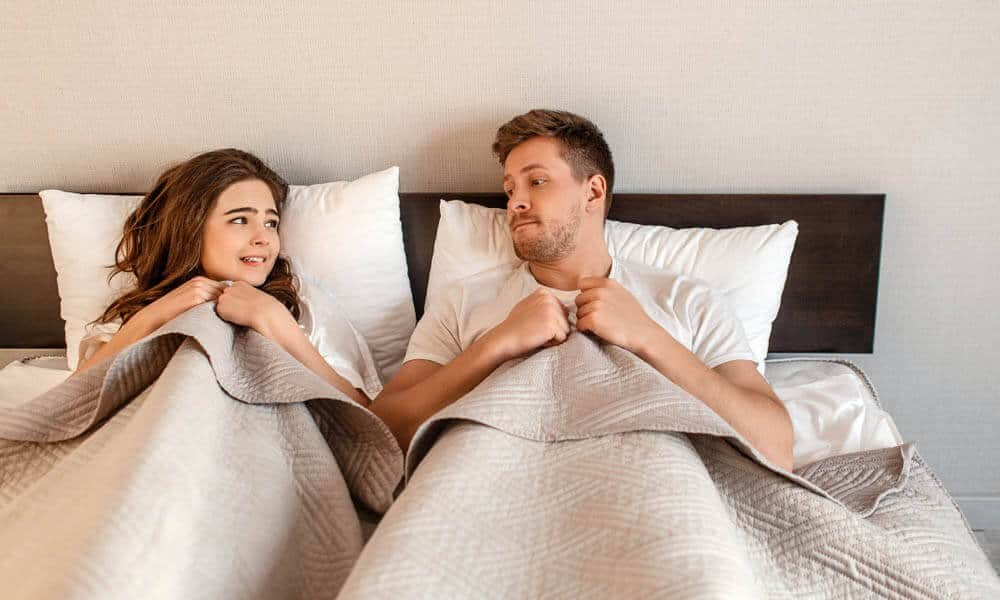 Don't be shy in bed while sex